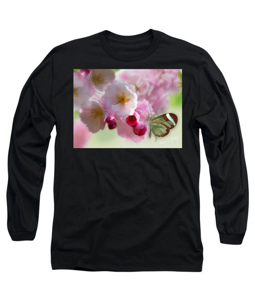 Spring Cherry Blossom Long Sleeve T-Shirt