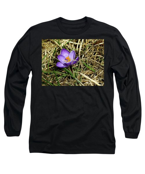 Spring Crocus Long Sleeve T-Shirt