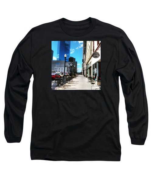 Spring Day In Downtown Lexington, Ky Long Sleeve T-Shirt