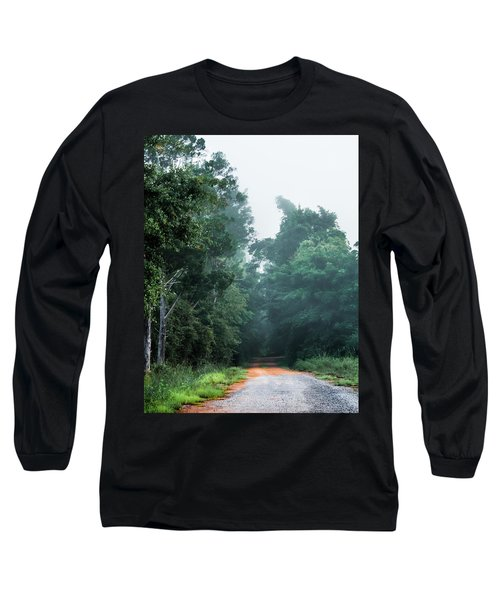 Long Sleeve T-Shirt featuring the photograph Spring Dirt Road by Shelby Young