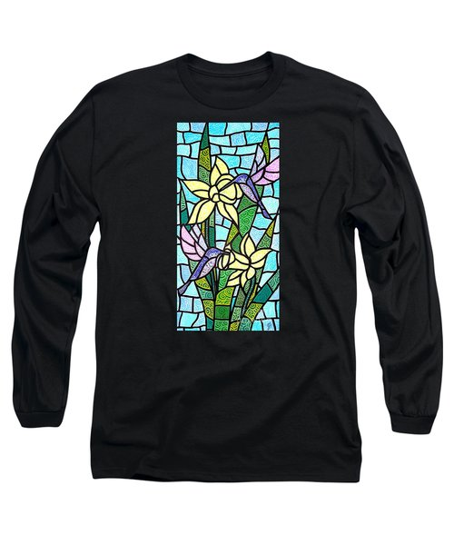 Long Sleeve T-Shirt featuring the painting Spring Fling by Jim Harris