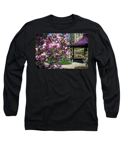 Spring Garden Long Sleeve T-Shirt by Deborah Klubertanz