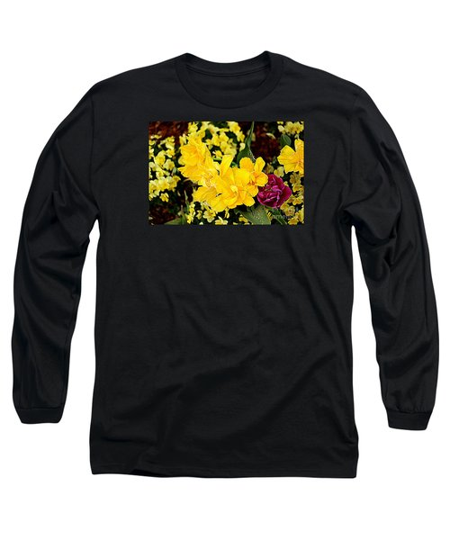 Long Sleeve T-Shirt featuring the photograph Spring In Dallas by Diana Mary Sharpton