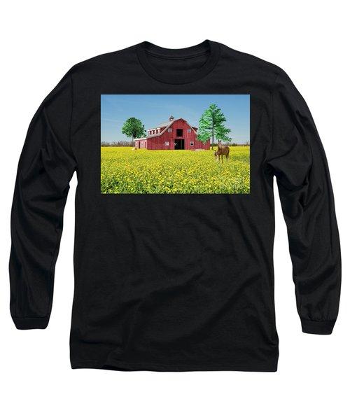 Spring On The Farm Long Sleeve T-Shirt