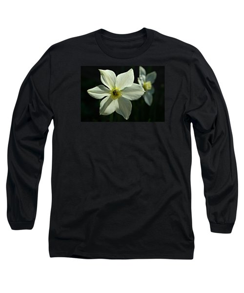 Spring Perennial Long Sleeve T-Shirt by Barbara S Nickerson