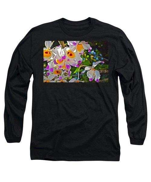 Spring Show 15 Brazilian Orchid Long Sleeve T-Shirt