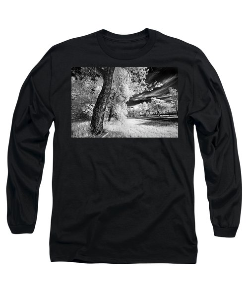 Long Sleeve T-Shirt featuring the photograph Spring Sky by Dan Jurak