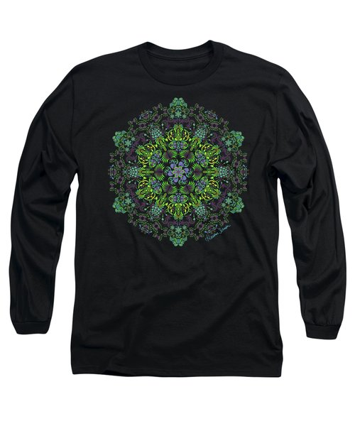 Spring Spiral Long Sleeve T-Shirt