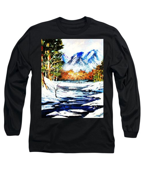 Spring Thaw Long Sleeve T-Shirt by Al Brown