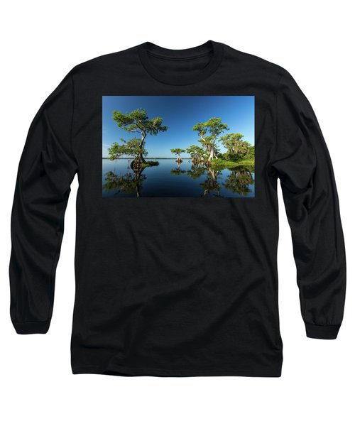 Spring Vistas At Lake Disston Long Sleeve T-Shirt