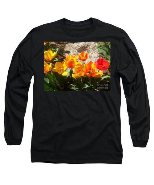 Springtime Flowers Long Sleeve T-Shirt