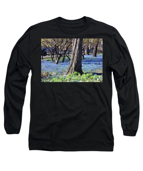 Springtime In The City Long Sleeve T-Shirt