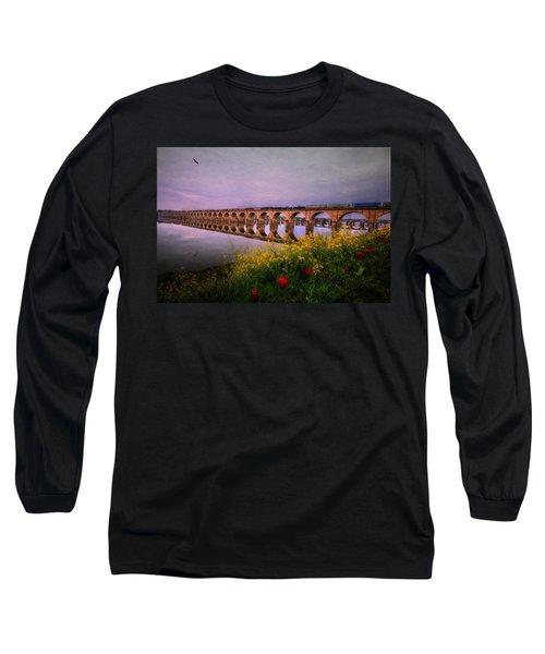 Springtime Reflections From Shipoke Long Sleeve T-Shirt
