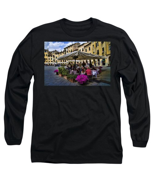 Square Amphitheater In Lucca Italy Long Sleeve T-Shirt