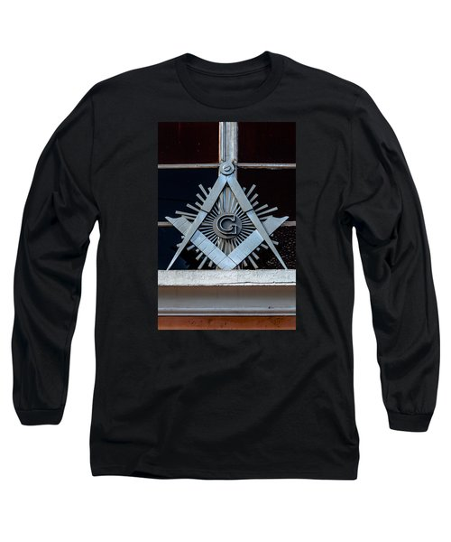 Square And Compass Long Sleeve T-Shirt