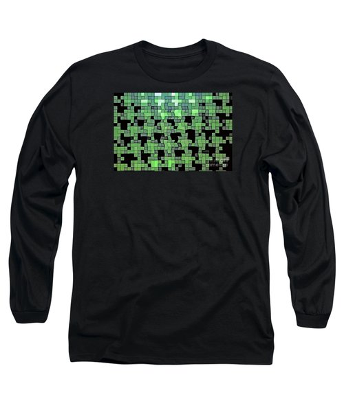 Long Sleeve T-Shirt featuring the photograph Squares by Juls Adams