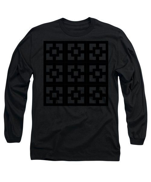Squares Multiview Long Sleeve T-Shirt