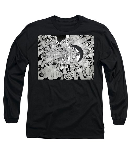 Squiggle Art By Amy Long Sleeve T-Shirt