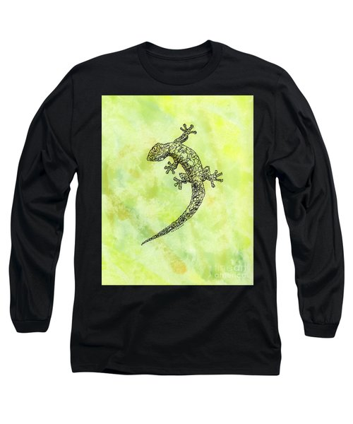 Squiggle Gecko Long Sleeve T-Shirt