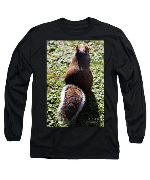 Squirrel S Back Long Sleeve T-Shirt