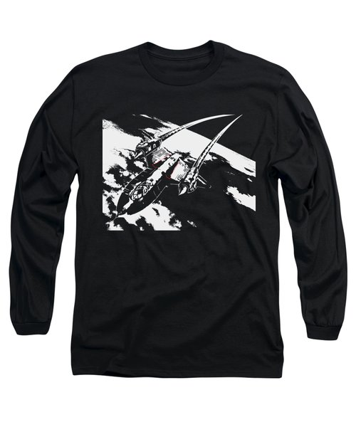 Sr-71 Flying High Long Sleeve T-Shirt