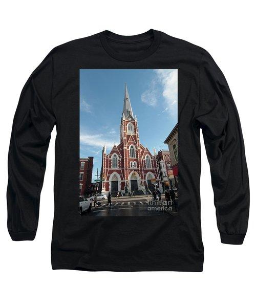 St Anthony Of Padua Church Long Sleeve T-Shirt
