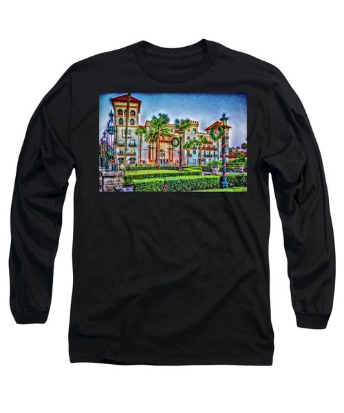 St. Augustine Downtown Christmas Long Sleeve T-Shirt