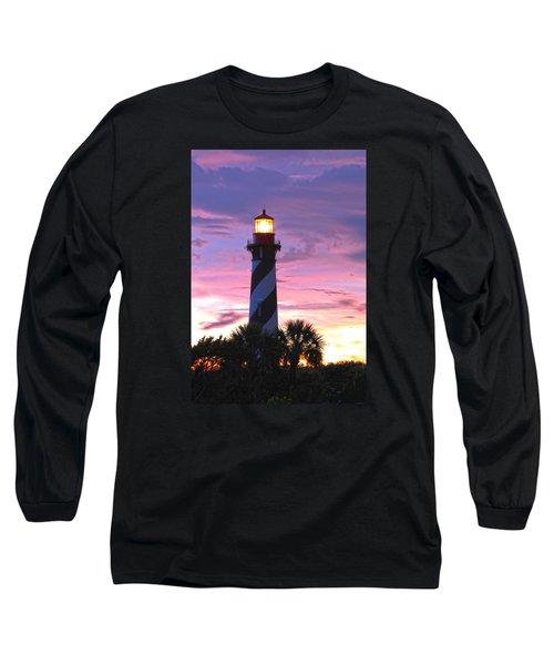 St. Augustine Light Long Sleeve T-Shirt by Robert Och