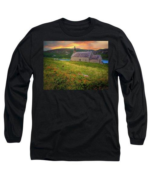 St. Brendan The Navigator Church Of Ireland In Crookhaven Long Sleeve T-Shirt