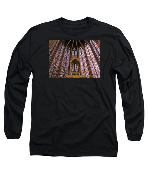 St Chapelle Paris Long Sleeve T-Shirt by Alan Toepfer