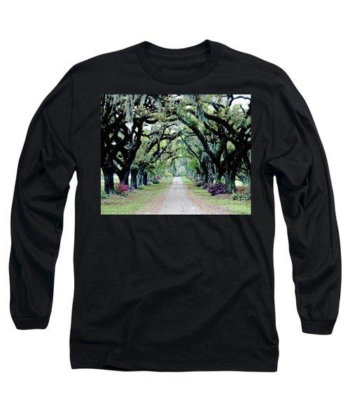 St Francisville Plantation Long Sleeve T-Shirt