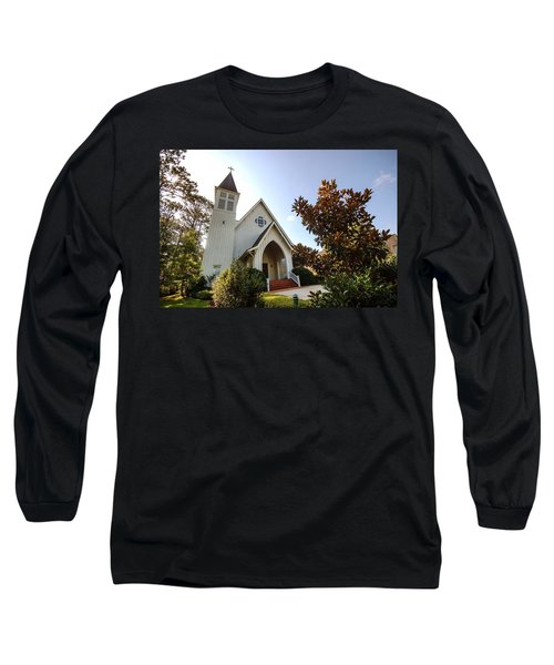 Long Sleeve T-Shirt featuring the photograph St. James V4 Fairhope Al by Michael Thomas