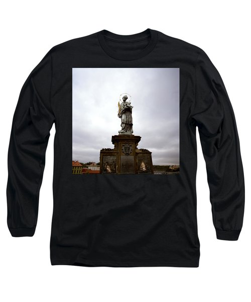 Saint John Of Nepomuk Long Sleeve T-Shirt by Shaun Higson