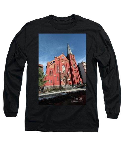 St Johns Lutheran Church Long Sleeve T-Shirt