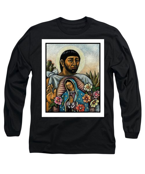 St. Juan Diego And The Virgins Image - Jljdv Long Sleeve T-Shirt