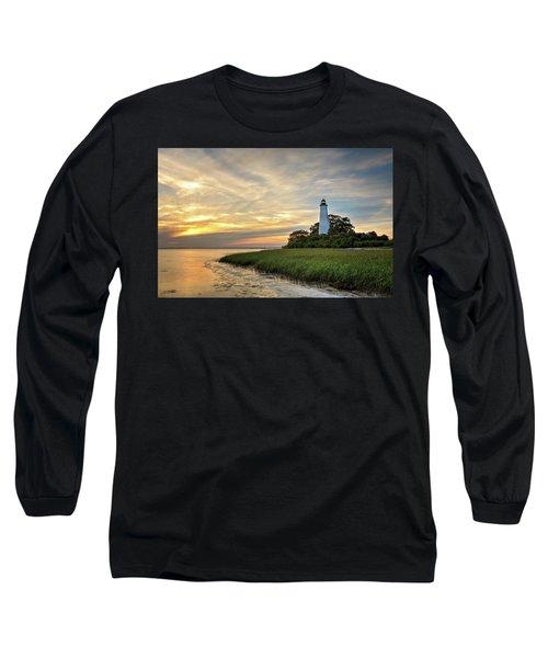 St. Mark's Lighthouse Long Sleeve T-Shirt