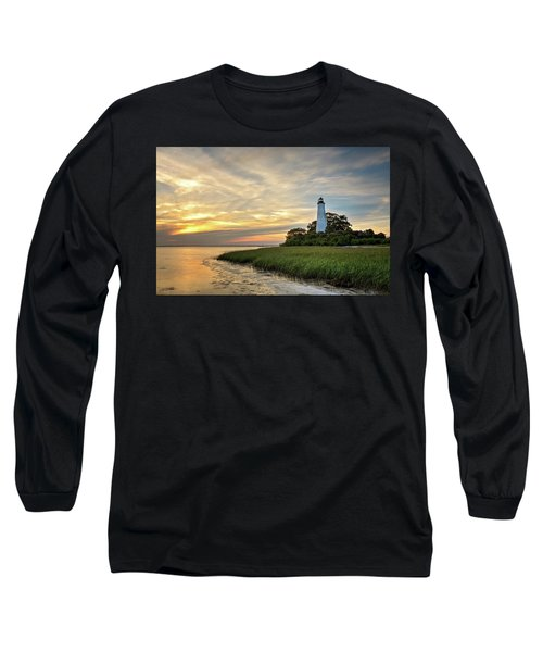 St. Mark's Lighthouse Long Sleeve T-Shirt