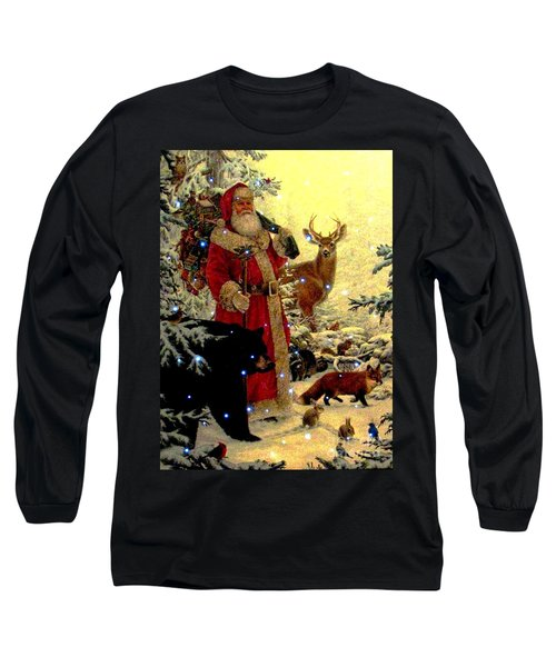 St Nick  And Friends Long Sleeve T-Shirt