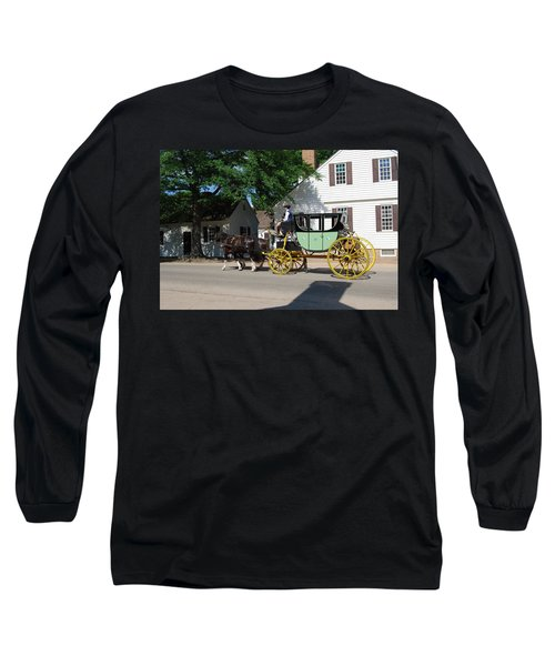 Stage Coach Long Sleeve T-Shirt by Eric Liller