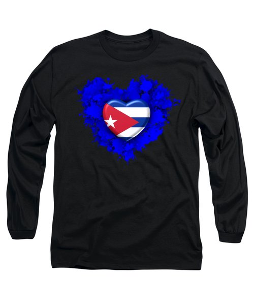 Stain Love To Cuba  Long Sleeve T-Shirt