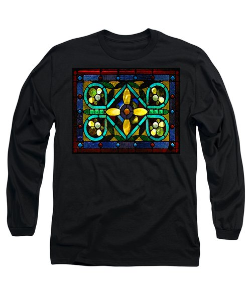 Stained Glass 1 Long Sleeve T-Shirt