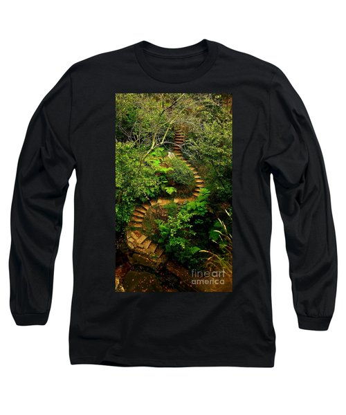 Stairway To Heaven Long Sleeve T-Shirt by Blair Stuart