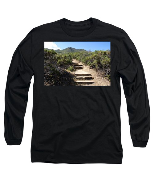 Stairway To Heaven On Mt Tamalpais Long Sleeve T-Shirt