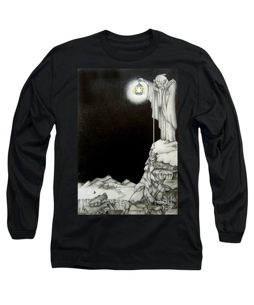 Stairway To Heaven Long Sleeve T-Shirt by Patrice Torrillo