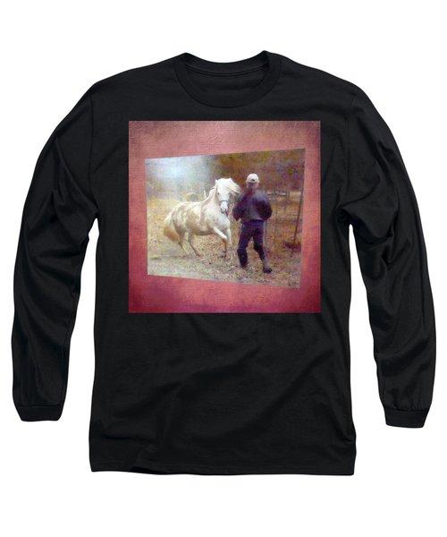 Stallion's Springtime Emotions Long Sleeve T-Shirt