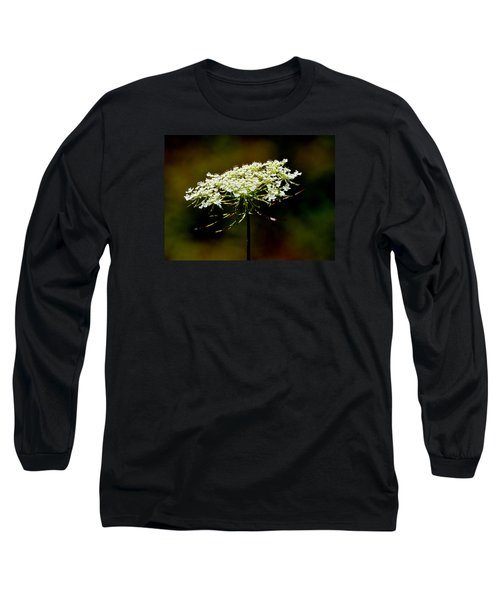 Stamens Of Queen Annes Lace 2  Long Sleeve T-Shirt by Lyle Crump