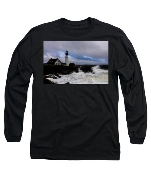 Standing In The Storm Long Sleeve T-Shirt