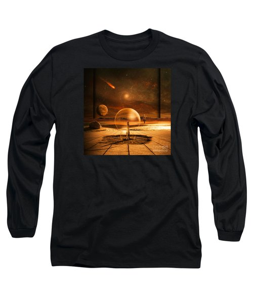 Standing In Time Long Sleeve T-Shirt