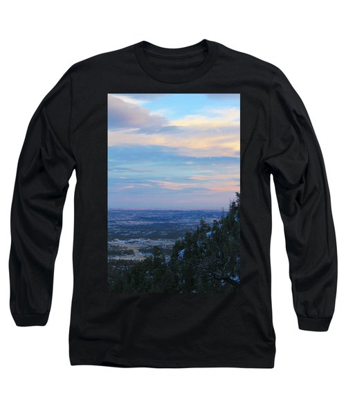 Stanley Canyon Hike Long Sleeve T-Shirt by Christin Brodie