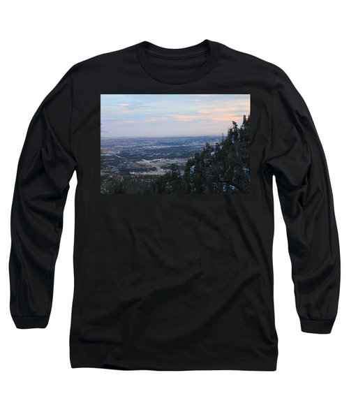 Long Sleeve T-Shirt featuring the photograph Stanley Canyon View by Christin Brodie
